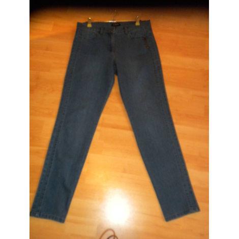 Jeans slim CAROLL Bleu, bleu marine, bleu turquoise