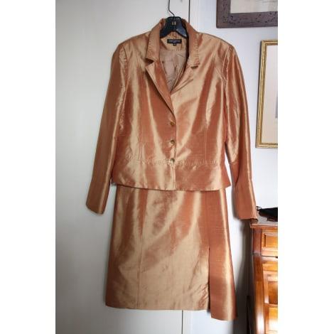 Tailleur robe DIAPOSITIVE Doré, bronze, cuivre