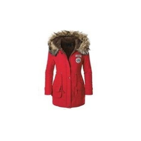 Manteau CATCHYMARKET Rouge, bordeaux