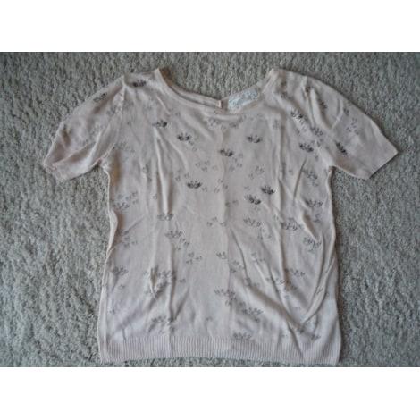 Top, tee-shirt SUNCOO Rose, fuschia, vieux rose