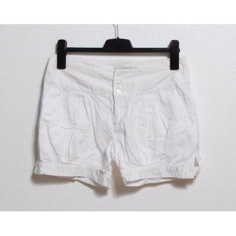 Short SUD EXPRESS Blanc, blanc cassé, écru