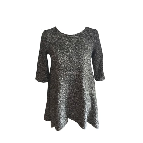 Robe courte BA&SH Gris, anthracite