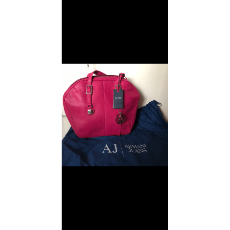 Lederhandtasche ARMANI JEANS Pink,  altrosa