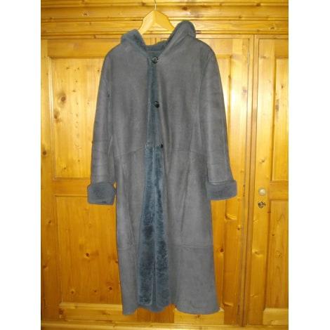 Fur Coat MORIZOT Gray, charcoal