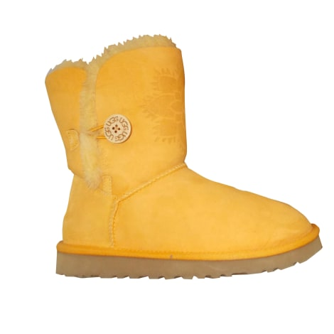 Snow Boots UGG 38 yellow - 8140310