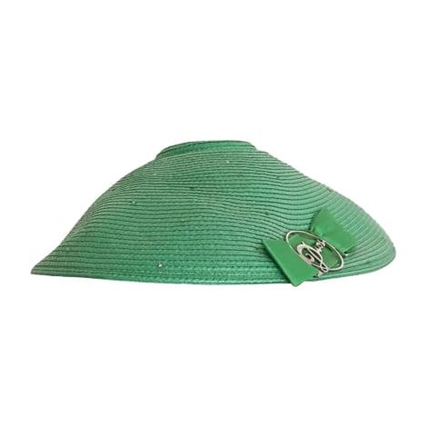 Chapeau DIOR Vert