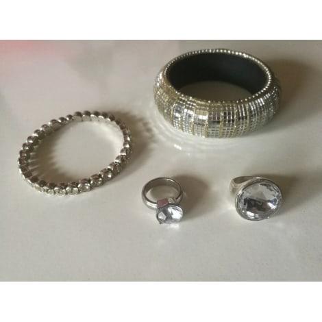 Parure bijoux H&M Argenté, acier