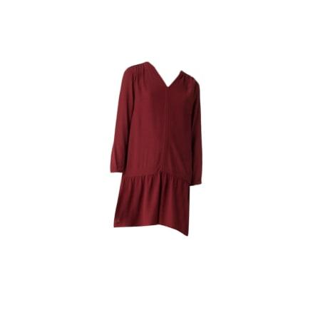 Robe courte TOMMY HILFIGER Rouge, bordeaux