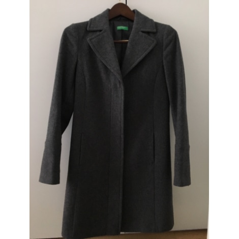Manteau UNITED COLORS OF BENETTON Gris, anthracite