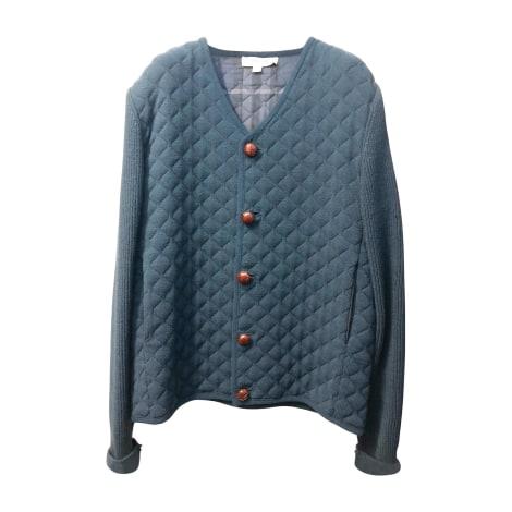 Gilet, cardigan BURBERRY Bleu, bleu marine, bleu turquoise