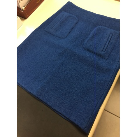 Jupe courte CAROLL Bleu, bleu marine, bleu turquoise