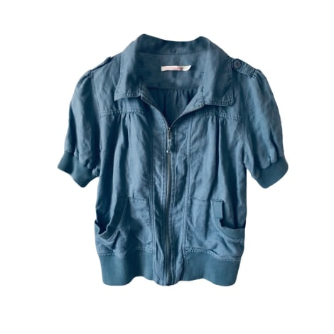 Blouson BERENICE Bleu, bleu marine, bleu turquoise