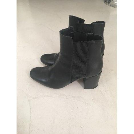 Bottines & low boots à talons ZARA Noir