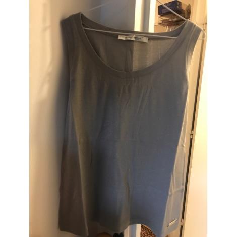 Top, tee-shirt MARINA RINALDI Argenté, acier