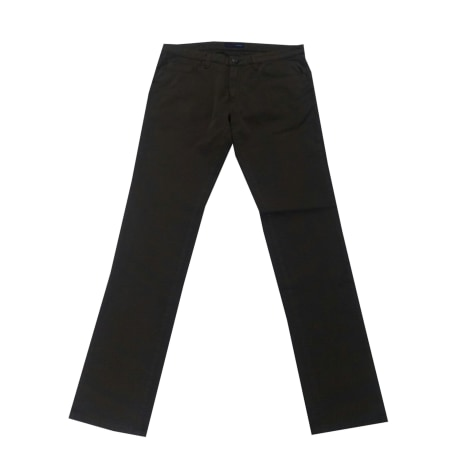 Pantalon droit TRUSSARDI JEANS Blanc, blanc cassé, écru