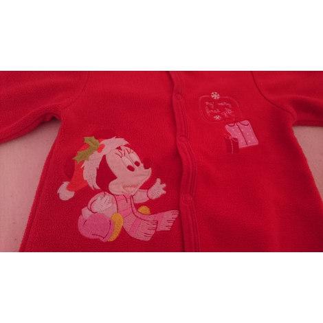 Pyjama DISNEY Rouge, bordeaux