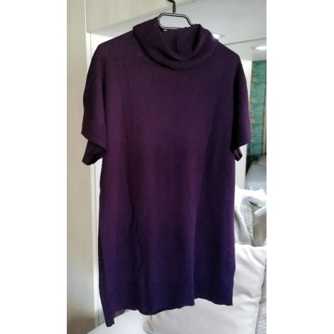 Pull tunique CAROLL Violet, mauve, lavande