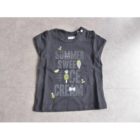 Top, tee shirt IKKS Noir