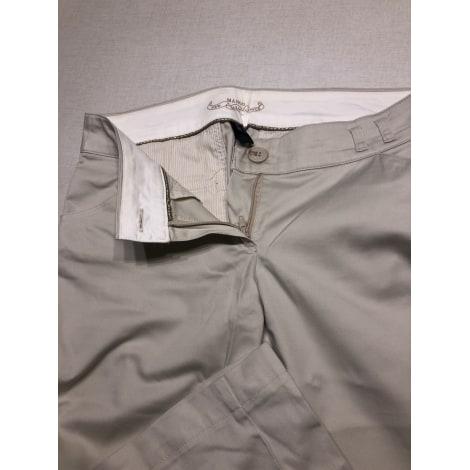 Pantalon droit MANGO Beige, camel