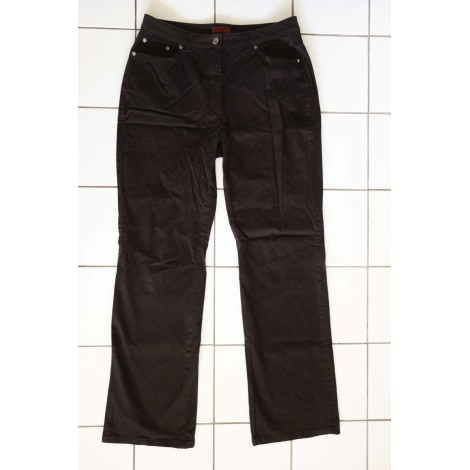 Jeans large PIERRE CARDIN Marron