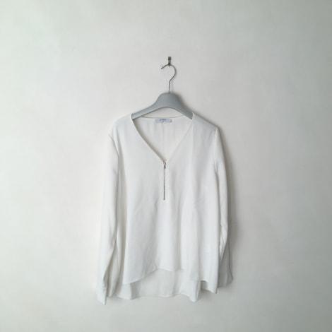 Blouse ZAPA Blanc, blanc cassé, écru