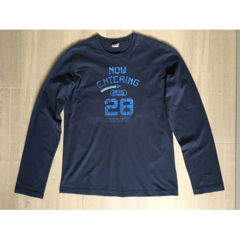 Tee-shirt DIESEL Bleu, bleu marine, bleu turquoise