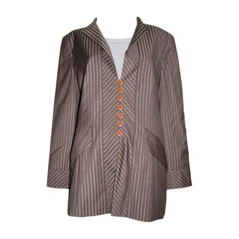 Blazer, veste tailleur ESCADA Marron