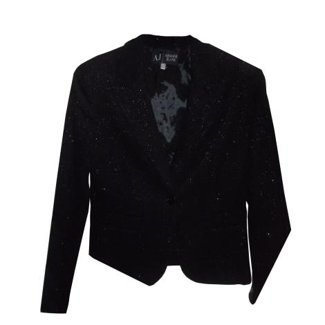 Blazer, veste tailleur ARMANI JEANS Noir