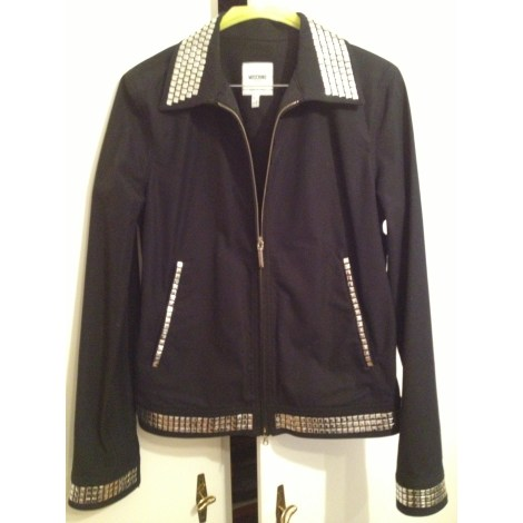 Blazer, veste tailleur MOSCHINO Noir