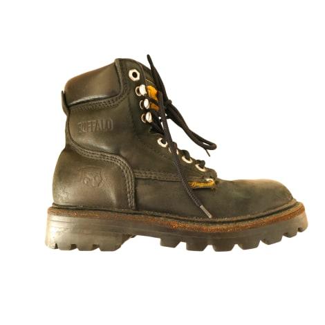 Chaussures à lacets  BUFFALO Noir
