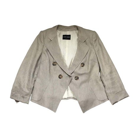 Blazer, veste tailleur GIORGIO ARMANI Doré, bronze, cuivre