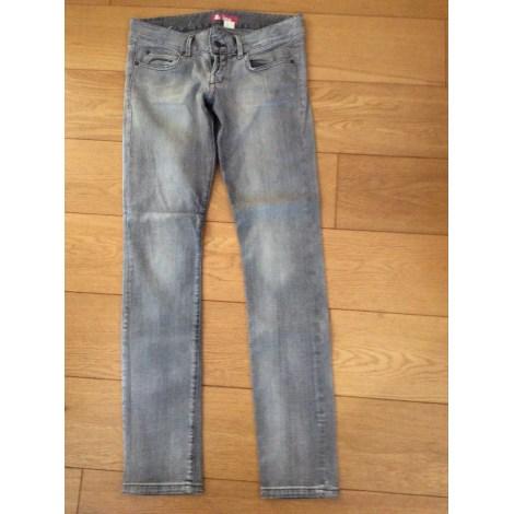 Jeans slim H&M Gris, anthracite