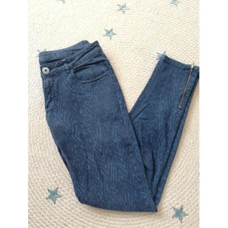 Jeans slim LEON & HARPER Bleu, bleu marine, bleu turquoise