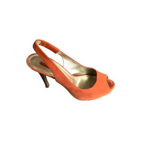Escarpins à bouts ouverts NINE WEST Orange