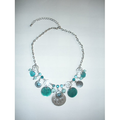 Collier PRINTEMPS Bleu, bleu marine, bleu turquoise
