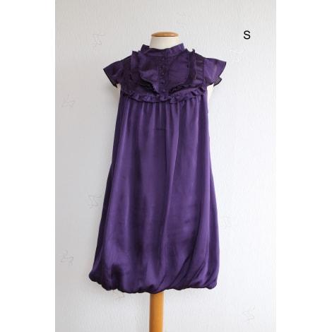 Robe courte VILA Violet, mauve, lavande