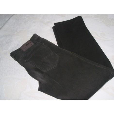 Pantalon droit MARLBORO CLASSICS Doré, bronze, cuivre
