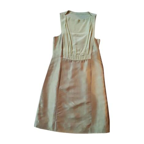 Robe courte MOSCHINO Vert