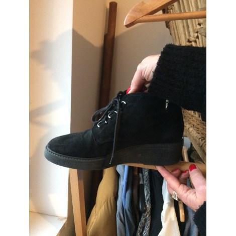 Chaussures à lacets  SACHA Noir