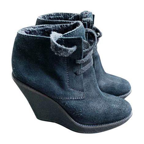 Bottines & low boots à compensés BURBERRY Noir