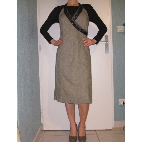 Robe mi-longue BLANCO Gris, anthracite