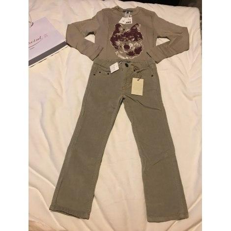 Pants Set, Outfit BONPOINT Beige, camel