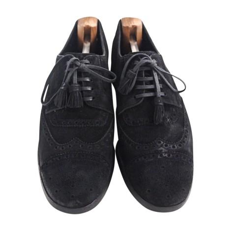 Chaussures à lacets DOLCE & GABBANA Noir