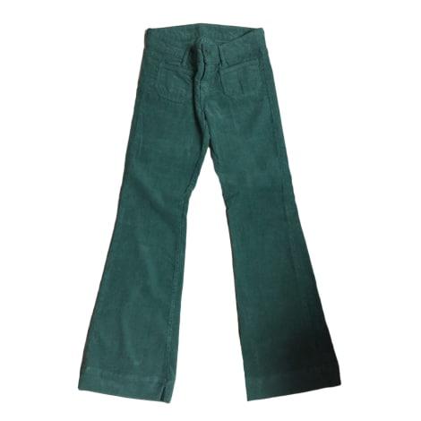 Pantalon très evasé, patte d'éléphant BA&SH Vert