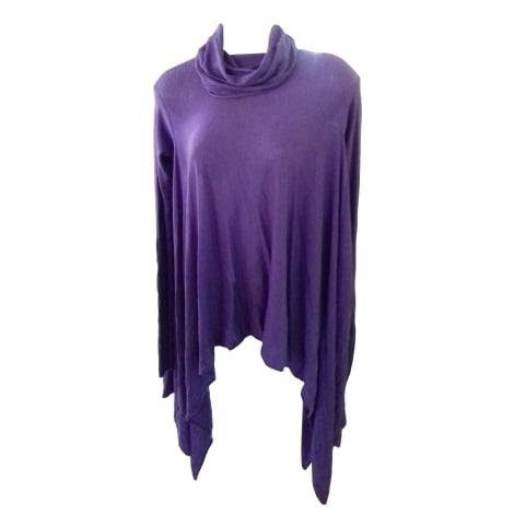 Pull tunique BCBG MAX AZRIA Violet, mauve, lavande