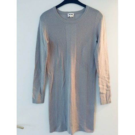 Robe pull BEL AIR Gris, anthracite