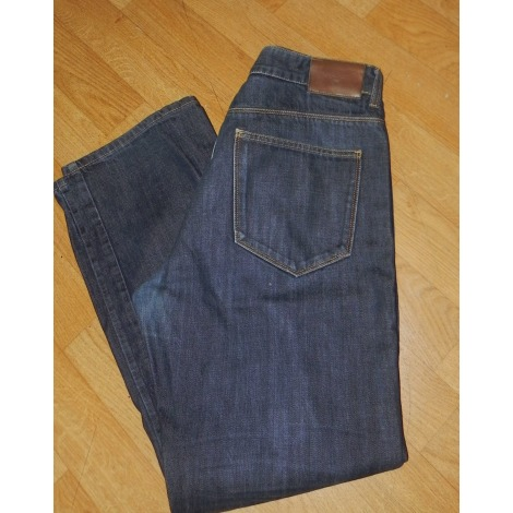 Jeans droit GANT Bleu, bleu marine, bleu turquoise