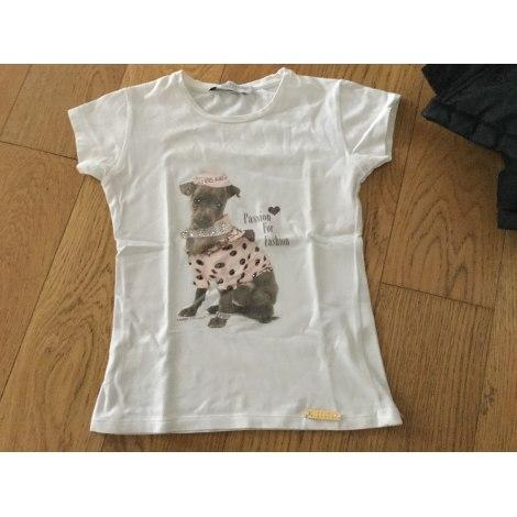 Top, Tee-shirt T-SHIRT T-SHOPS Blanc, blanc cassé, écru