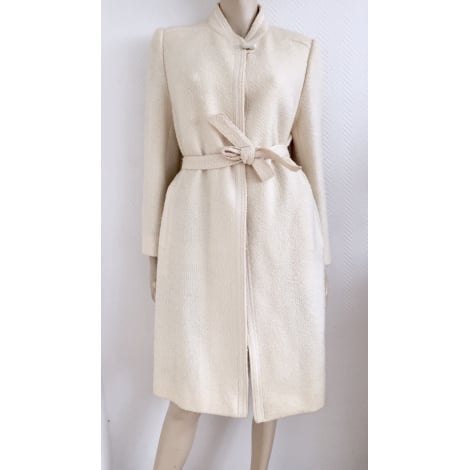 Manteau ALMINA Blanc, blanc cassé, écru
