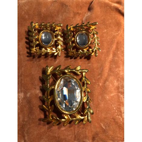 Parure bijoux INÈS DE LA FRESSANGE Doré, bronze, cuivre